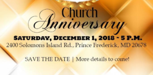 Greater Faith Ministries is Celebrating their 4th Year Church Anniversary