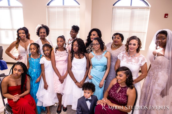 2018 Wedding Expo - Bridal party photo