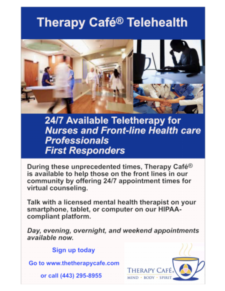 Therapy Cafe Telehealth Services